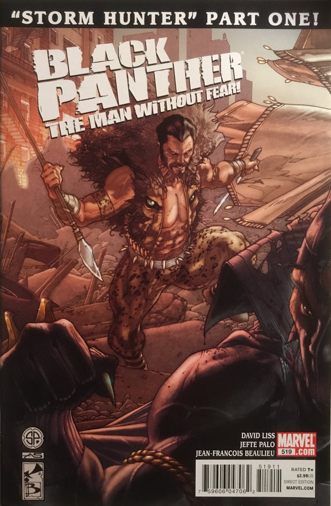 BLACK PANTHER THE MAN WITHOUT FEAR # 519