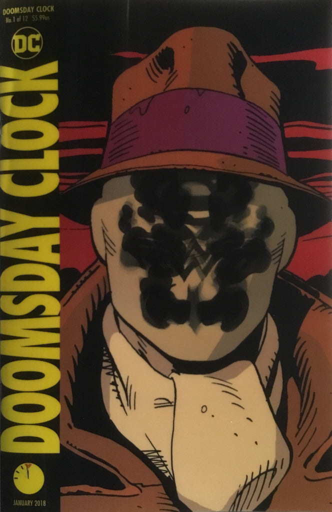 DOOMSDAY CLOCK # 1 LENTICULAR COVER FIRST PRINTING