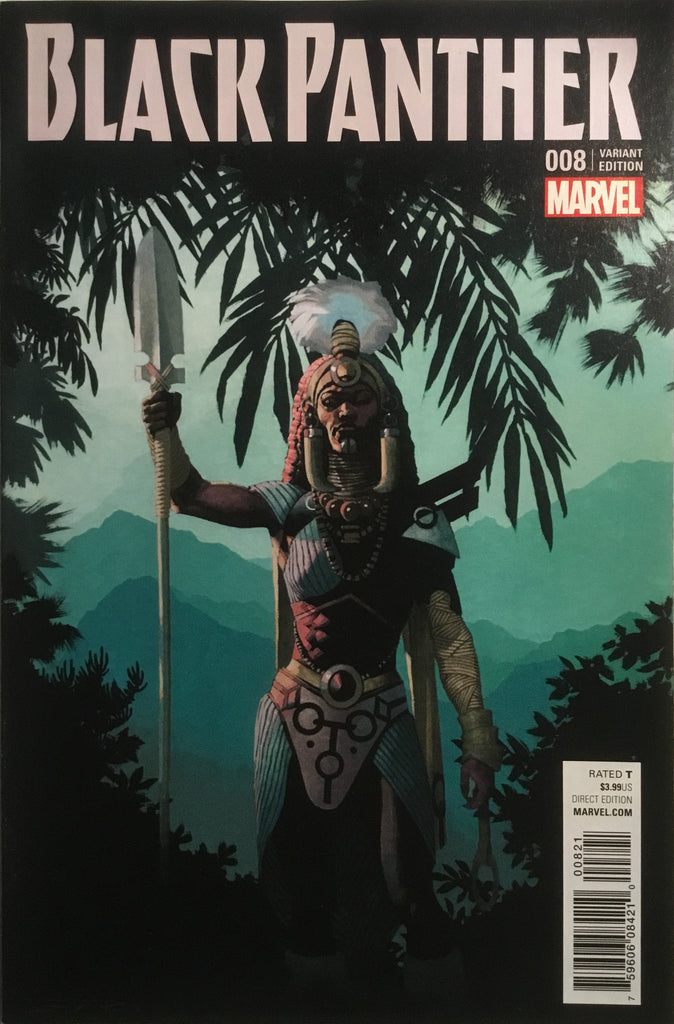 BLACK PANTHER (2016-2018) # 08 VARIANT COVER