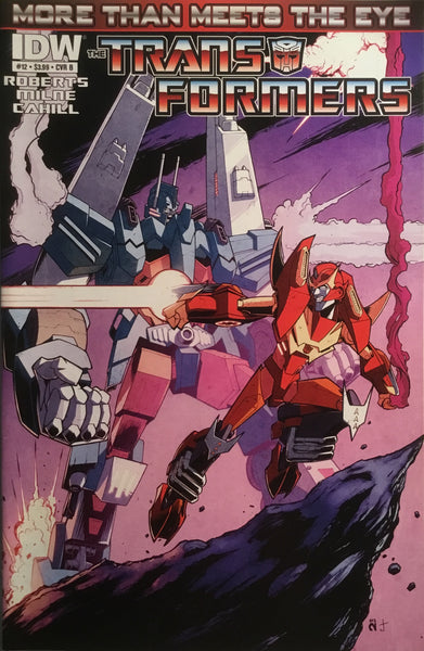 TRANSFORMERS MORE THAN MEETS THE EYE #12 (COVER B)