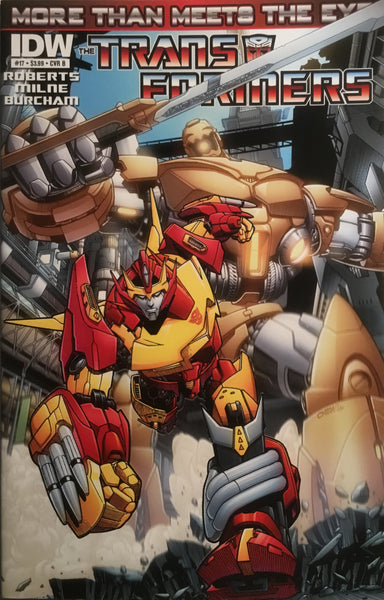 TRANSFORMERS MORE THAN MEETS THE EYE #17 (COVER B)