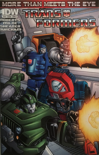 TRANSFORMERS MORE THAN MEETS THE EYE #18 (COVER B)