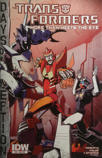TRANSFORMERS MORE THAN MEETS THE EYE #38 (SUB COVER)