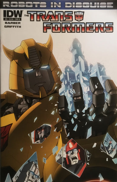 TRANSFORMERS ROBOTS IN DISGUISE # 9 (COVER B)
