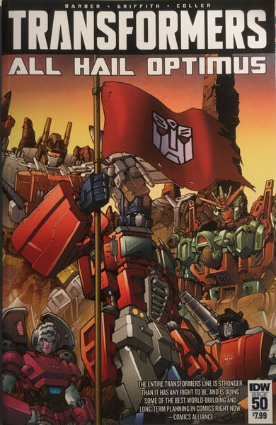 TRANSFORMERS ROBOTS IN DISGUISE #50
