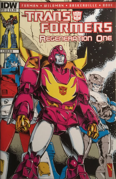 TRANSFORMERS REGENERATION ONE #81 (COVER B)