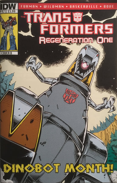 TRANSFORMERS REGENERATION ONE #82 (COVER B)