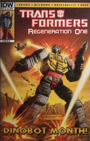TRANSFORMERS REGENERATION ONE #82 (COVER A)