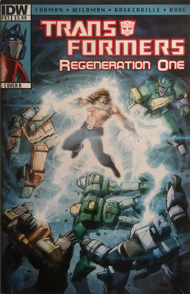 TRANSFORMERS REGENERATION ONE #83 (COVER A)