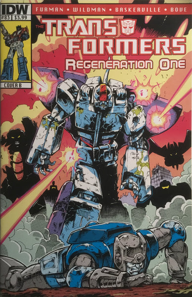 TRANSFORMERS REGENERATION ONE #83 (COVER B)