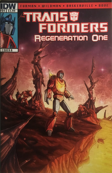 TRANSFORMERS REGENERATION ONE #84 (COVER A)