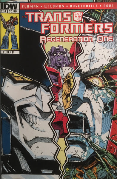 TRANSFORMERS REGENERATION ONE #84 (COVER B)