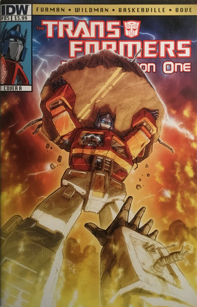 TRANSFORMERS REGENERATION ONE #85 (COVER A)