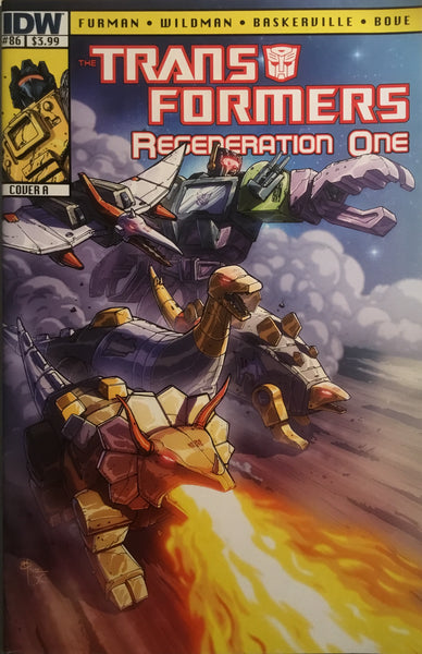 TRANSFORMERS REGENERATION ONE #86 (COVER A)