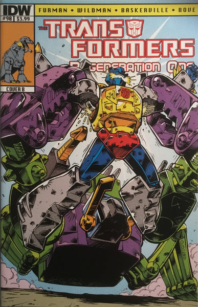 TRANSFORMERS REGENERATION ONE #90 (COVER B)