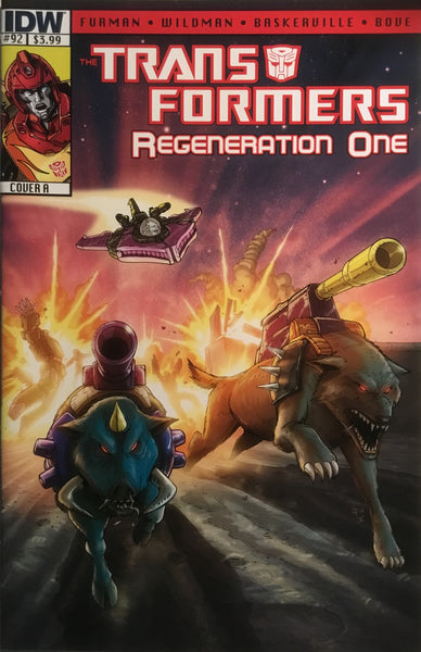 TRANSFORMERS REGENERATION ONE #92 (COVER A)