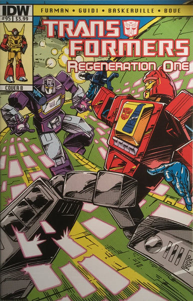 TRANSFORMERS REGENERATION ONE #95 (COVER B)