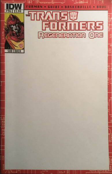 TRANSFORMERS REGENERATION ONE #96 (SUB COVER)