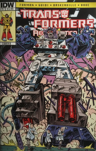 TRANSFORMERS REGENERATION ONE #97 (COVER B)