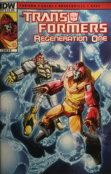TRANSFORMERS REGENERATION ONE #97 (COVER A)