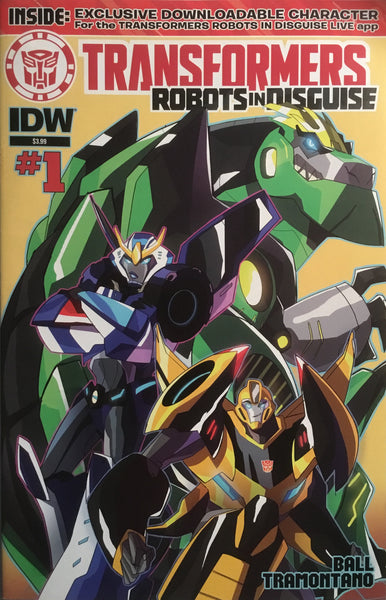 TRANSFORMERS ROBOTS IN DISGUISE ANIMATED # 1