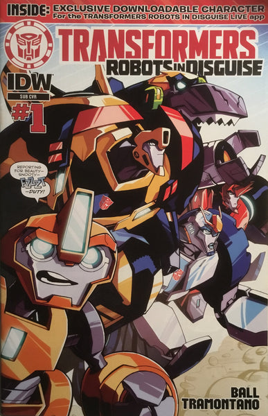 TRANSFORMERS ROBOTS IN DISGUISE ANIMATED # 1 (SUB-COVER)