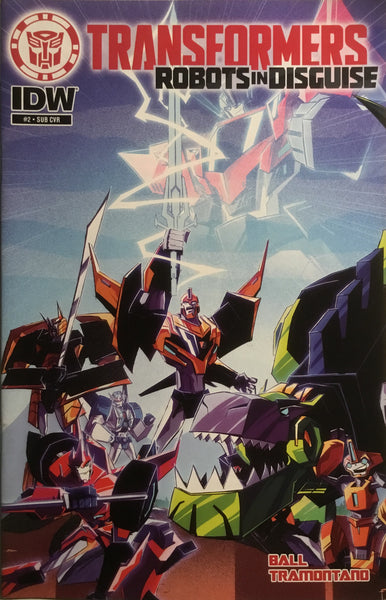 TRANSFORMERS ROBOTS IN DISGUISE ANIMATED # 2 (SUB-COVER)