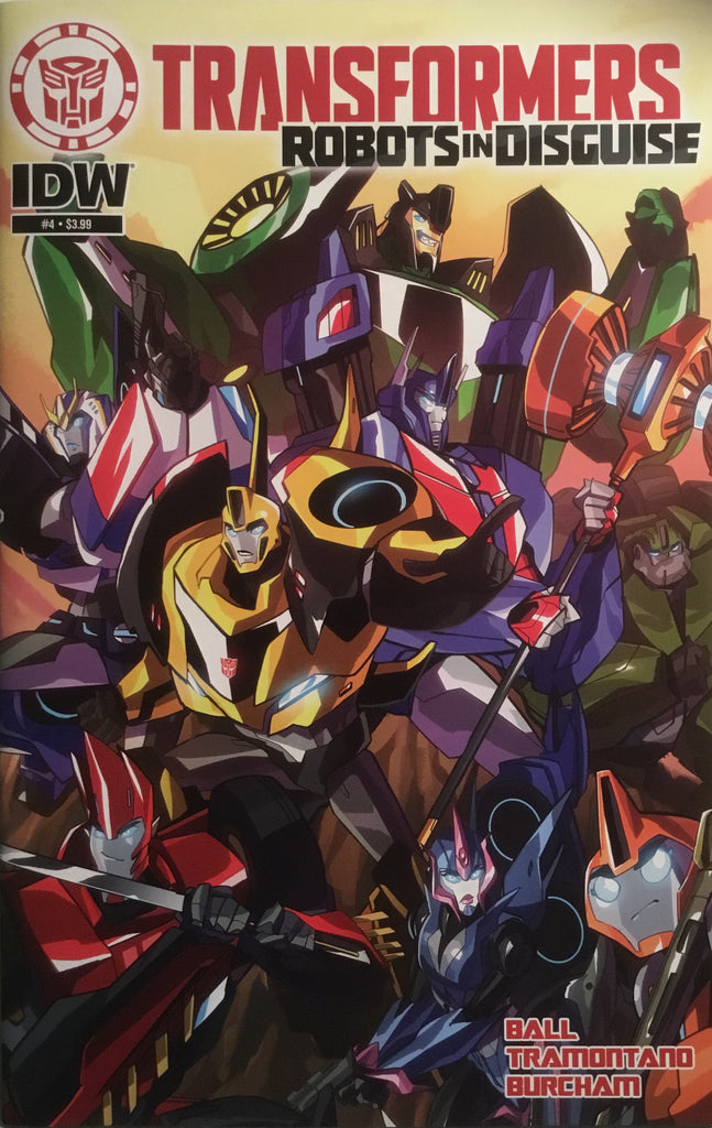 TRANSFORMERS ROBOTS IN DISGUISE ANIMATED # 4