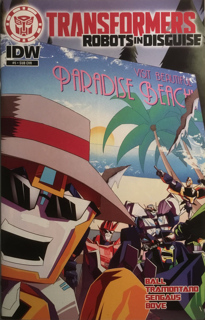 TRANSFORMERS ROBOTS IN DISGUISE ANIMATED # 5 (SUB-COVER)
