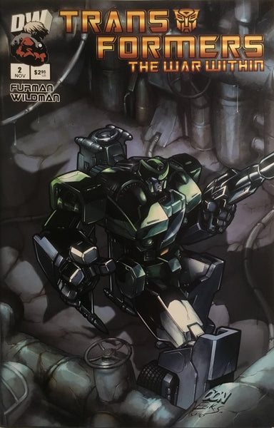TRANSFORMERS THE WAR WITHIN # 2