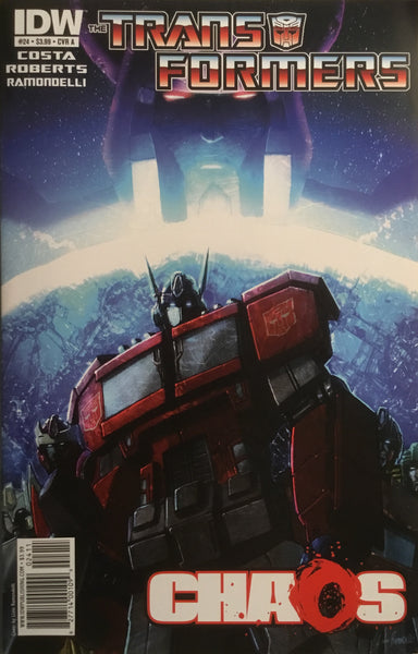 TRANSFORMERS #24 (COVER A)