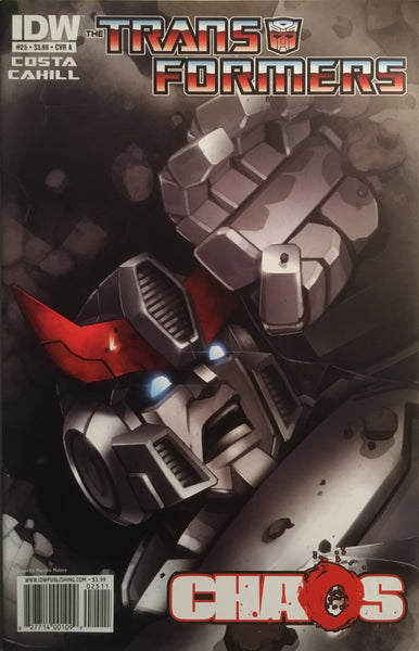 TRANSFORMERS #25 (COVER A)