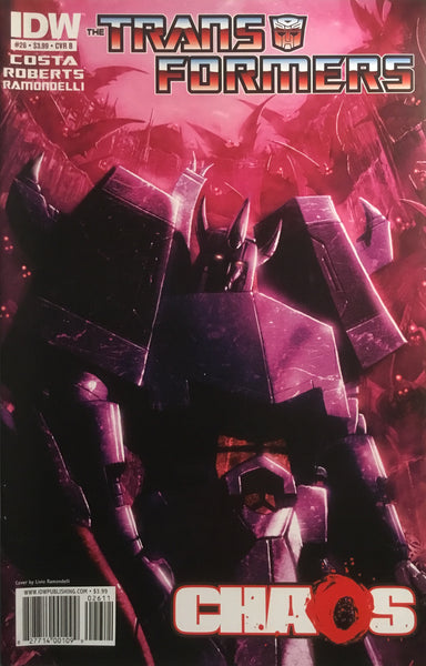 TRANSFORMERS #26 (COVER B)