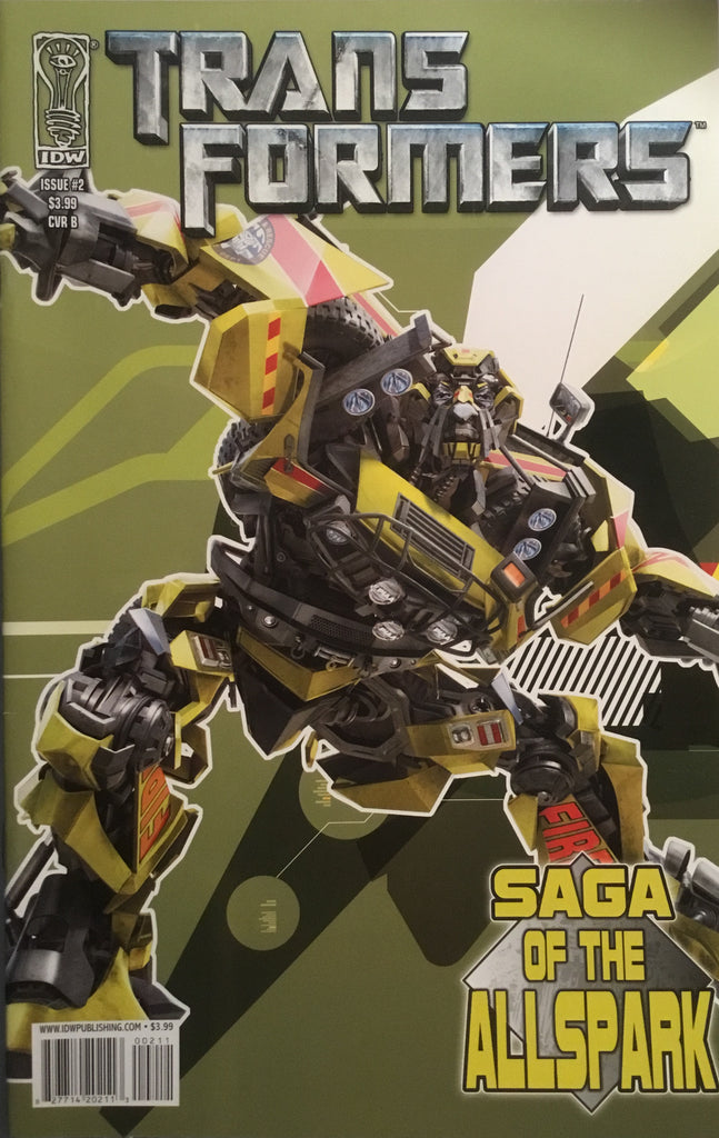 TRANSFORMERS SAGA OF THE ALLSPARK # 2 (COVER B)