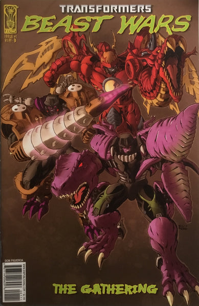 TRANSFORMERS BEAST WARS THE GATHERING # 1 (COVER B)