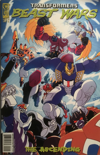 TRANSFORMERS BEAST WARS THE ASCENDING # 2 (COVER A)