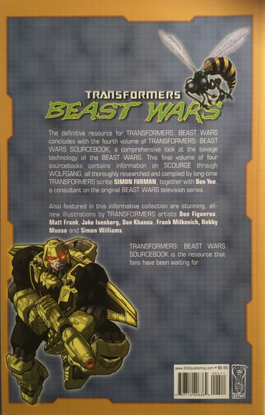 TRANSFORMERS BEAST WARS SOURCEBOOK # 4