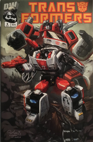 TRANSFORMERS GENERATION ONE # 6