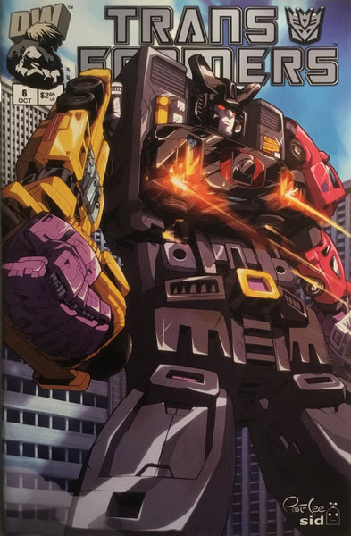 TRANSFORMERS GENERATION ONE # 6 VARIANT COVER