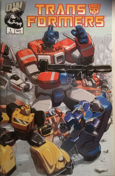 TRANSFORMERS GENERATION ONE VOLUME 2 # 1 VARIANT COVER