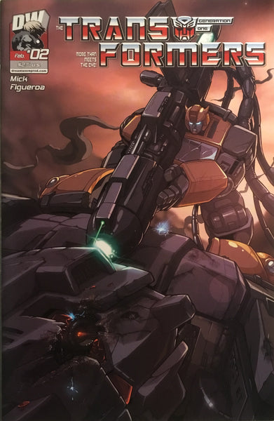 TRANSFORMERS GENERATION ONE VOLUME 3 # 2