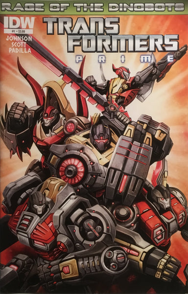 TRANSFORMERS PRIME RAGE OF THE DINOBOTS # 1