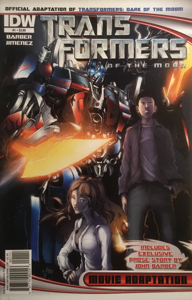 TRANSFORMERS DARK OF THE MOON MOVIE ADAPTATION # 1