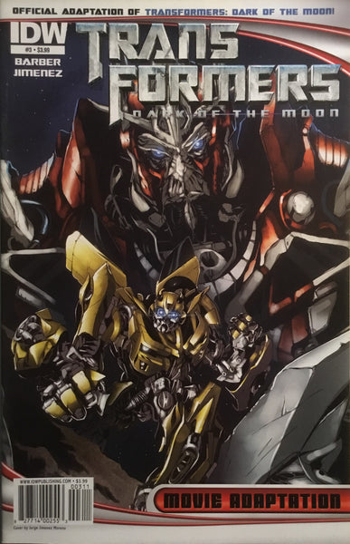TRANSFORMERS DARK OF THE MOON MOVIE ADAPTATION # 3