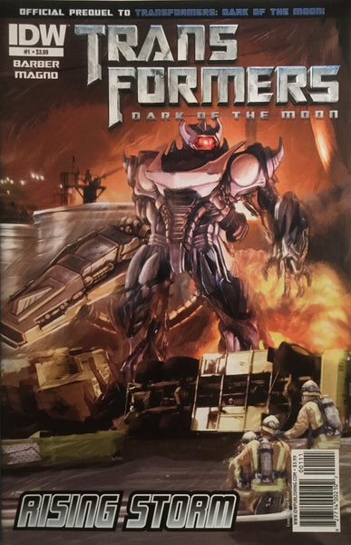 TRANSFORMERS DARK OF THE MOON RISING STORM # 1