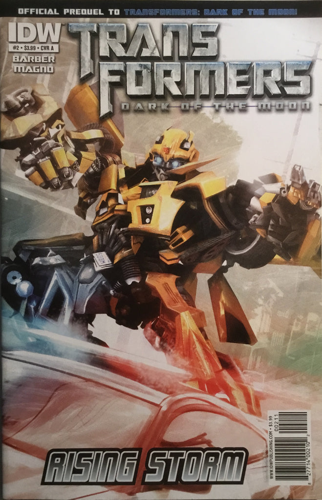 TRANSFORMERS DARK OF THE MOON RISING STORM # 2