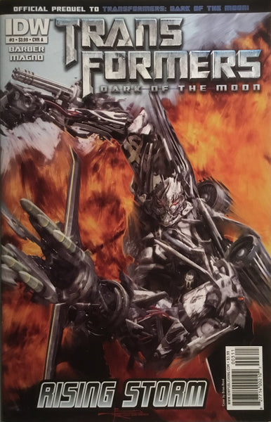 TRANSFORMERS DARK OF THE MOON RISING STORM # 3