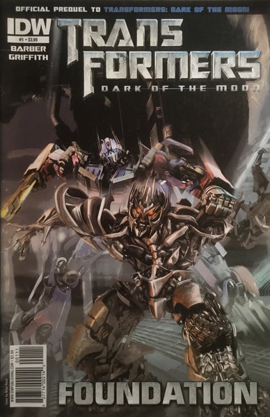 TRANSFORMERS DARK OF THE MOON FOUNDATION # 1