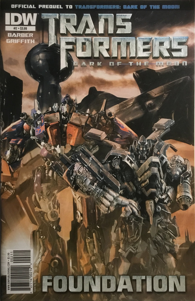 TRANSFORMERS DARK OF THE MOON FOUNDATION # 2