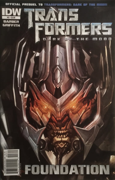 TRANSFORMERS DARK OF THE MOON FOUNDATION # 3